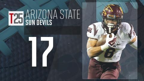 College Football Preseason Top 25: Arizona State Sun Devils, No. 17