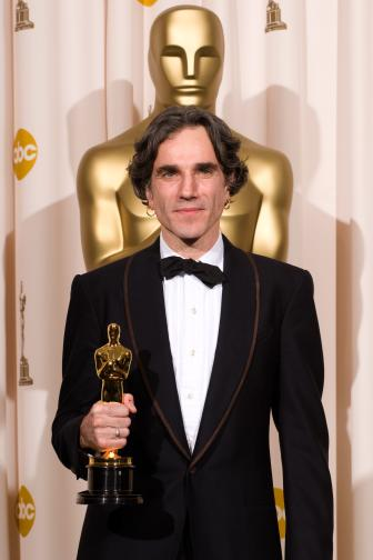 Best Actor winner Daniel Day-Lewis backstage during the 80th Annual Academy Awards at the Kodak Theatre in Hollywood, CA on Sunday, February 24, 2008.