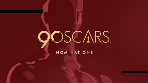 90th Annual Academy Awards - Oscar Nominations by Film