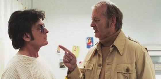 Charlie Sheen and Bill Murray  in 'A Glimpse Inside the Mind of Charles Swan III'