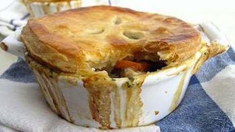 A Very English Chicken Potpie