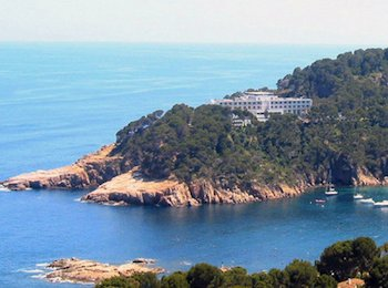 The Aiguablava Parador is situated on an enclave on Spain's Costa Brava