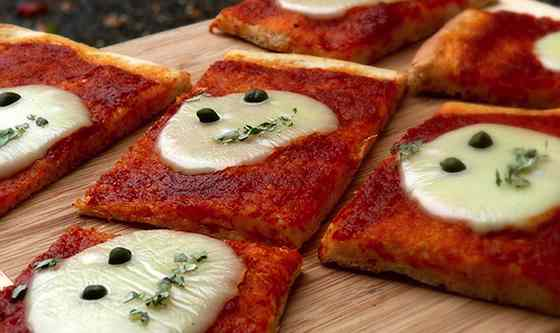 Alien Pizza Squares Recipe