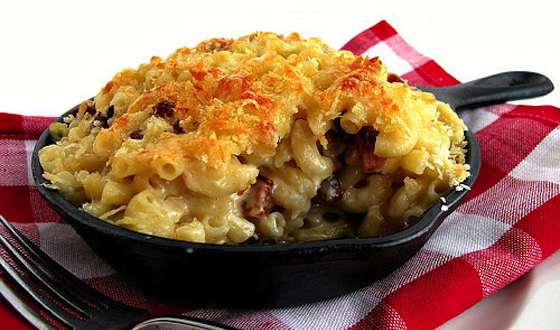 Alpine-Style Macaroni and Cheese with Bacon Recipe