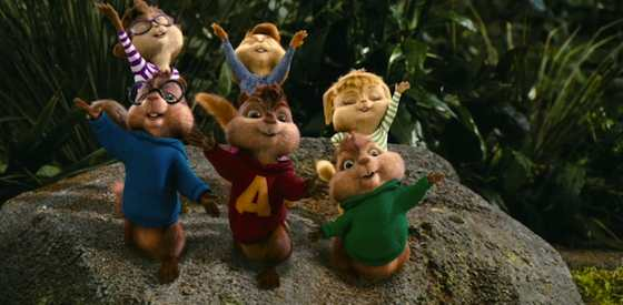 Jason Lee and David Crossin Alvin and the Chipmunks: Chipwrecked