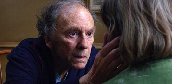 Jean-Louise Trintignant and Emmanuelle Riva  in Amour