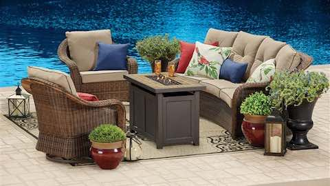 An Easy Patio Makeover