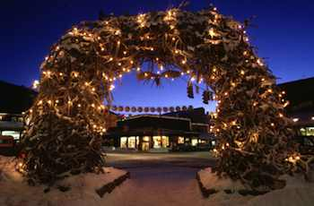 Antler Arch, Jackson Hole Town Square