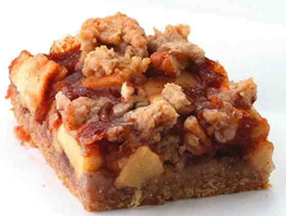 Apple-Cinnamon Fruit Bars Recipe