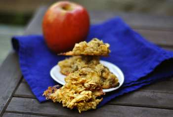Apple Gouda Oatmeal Cookies  Recipe