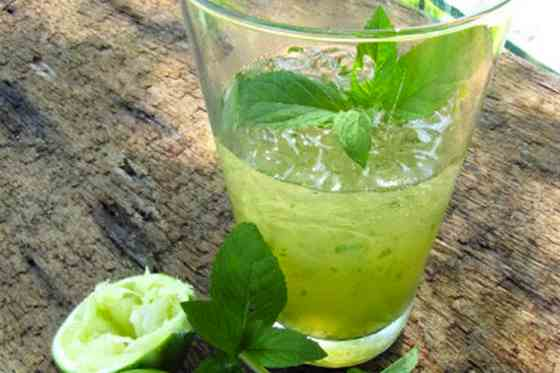 Apple Lime Mint Spritzer Mocktail Recipe