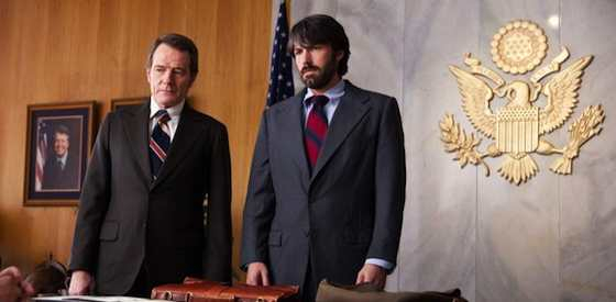 Ben Affleck and Bryan Cranston  in Argo