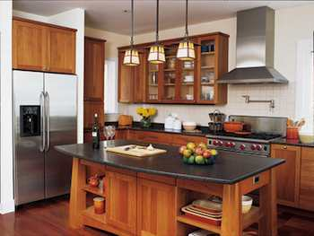 Kitchen Styles on Arts   Crafts Style Adapted To A Modern Kitchen Design   Ihavenet Com