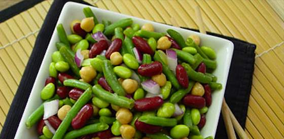 Asian Sweet-and-sour Four-bean Salad Recipe