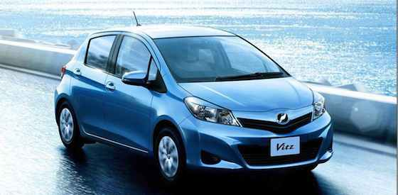 2012 Toyota Yaris: Sized for the Times