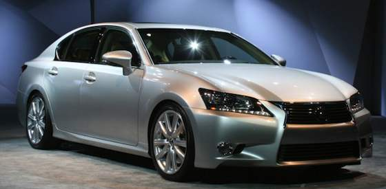 New 2013 GS Marks Bold Step for Lexus