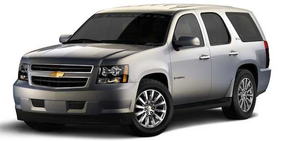 Chevrolet Tahoe Hybrid: Big Bang Theory