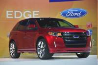 Ford Gives Its 2011 Edge New Edge - CHICAGO, IL., Feb. 10,2010-2010 Chicago Auto Show-The 2011 Ford Edge Sport revealed at the 2010 Chicago Auto Show. Photo by: Sam VarnHagen/Ford Motor Co. (2/10/2010)
