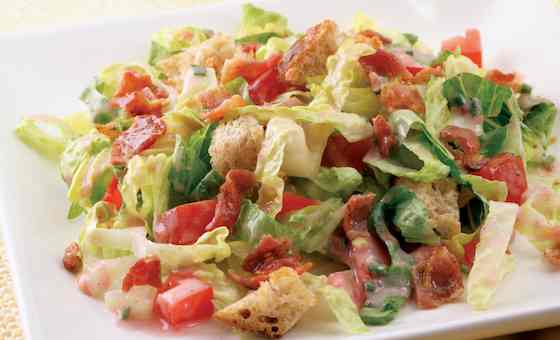 BLT Salad: A Bacon Recipe That Won't Wreck Your Diet Recipe