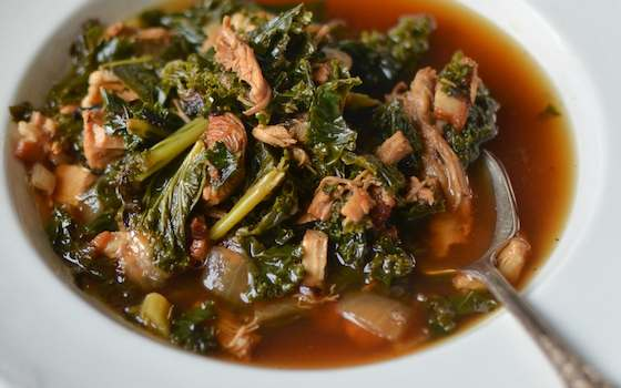 Bacon, Kale and Turkey Stew Recipe