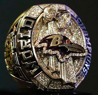 Ravens Super Bowl XLVII Ring