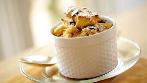 Banana Chocolate Chip Souffle