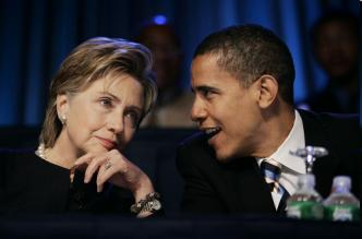Secretary of State to-be Clinton & Barack Barack Obama President-Elect Presidential Candidate Democrat Nominee Arianna Huffington Political News and Social Commentary