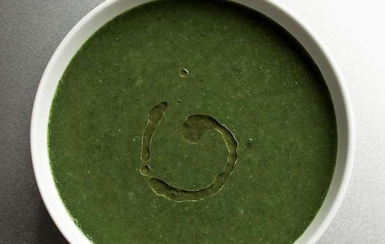 Chard and Spinach Soup Recipe