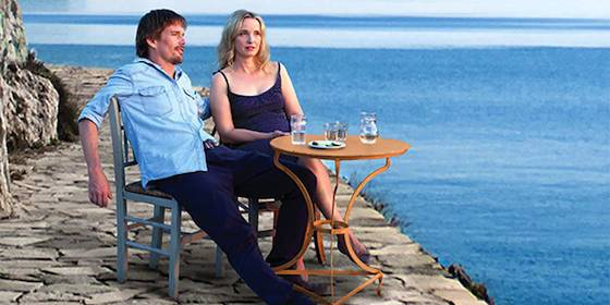 Ethan Hawke and Julie Delpy  in 'Before Midnight'