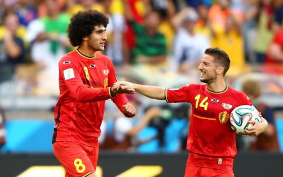Belgium Stages Comeback to Beat Algeria 2-1 | World Cup