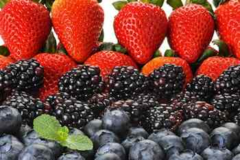 Berries are low in calories, sodium and fat, and high in fiber, potassium and vitamin C. They're also packed with antioxidants.