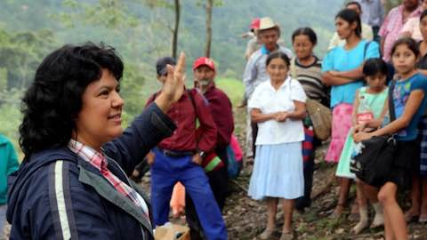 Berta Cáceres, Presente!