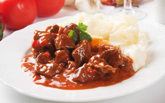 Best Beef Goulash with Hungarian Sweet Paprika Recipe