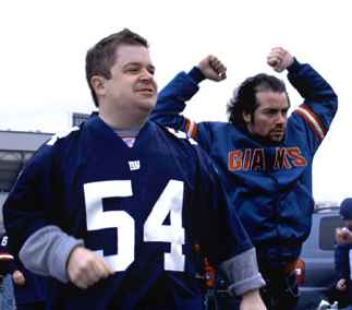 Patton Oswalt & Kevin Corrigan in the movie Big Fan