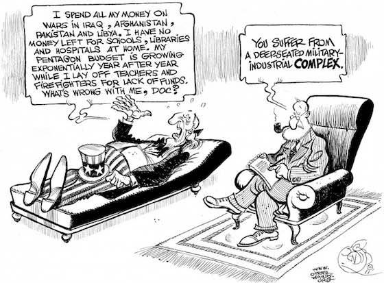 Big Money in Politics Drives War