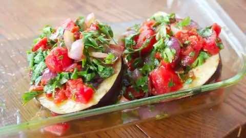 Braised Eggplant and Tomatoes Recipe