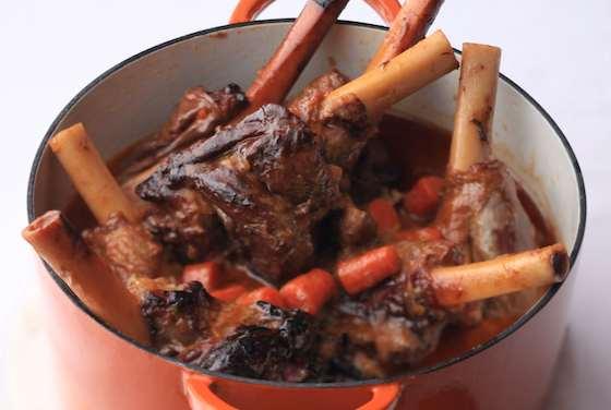 Lamb Shanks with Leeks and Grapes | Best Lamb Recipes
