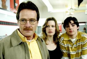 Bryan Cranston, Anna Gunn, RJ Mitte in Breaking Bad