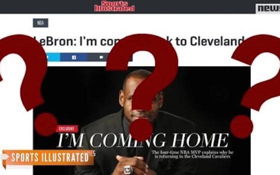 Breaking Down LeBron's Cavaliers Contract