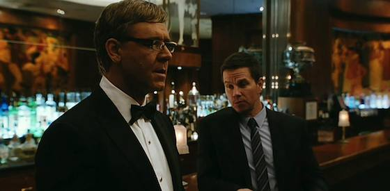 Mark Wahlberg and Russell Crowe  in Broken City