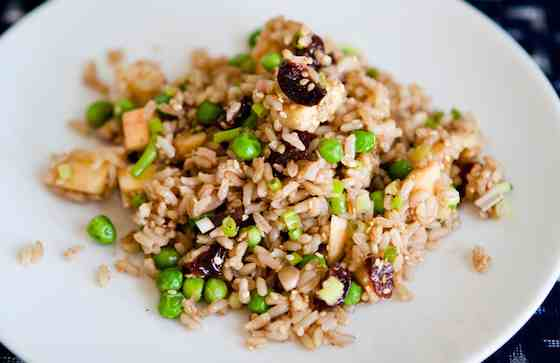 Brown Rice Salad with Apples, Walnuts and Cherries Recipe