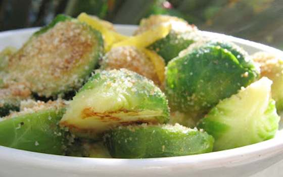 Brussels Sprouts with Toasted Breadcrumbs and Lemon Recipe