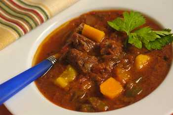 Butternut Squash and Beef Soup Recipe