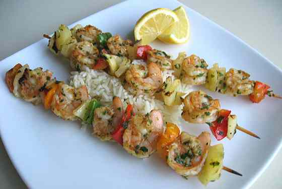 Cajun-Style Grilled Shrimp Skewers Recipe