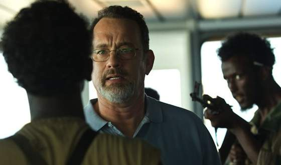 'Captain Phillips' Movie Review - Tom Hanks and Barkhad Abdi  | Movie Reviews Site