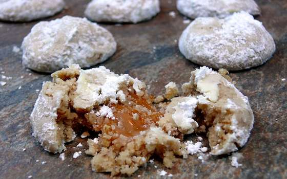 Caramel-Nut Surprise Cookies Recipe