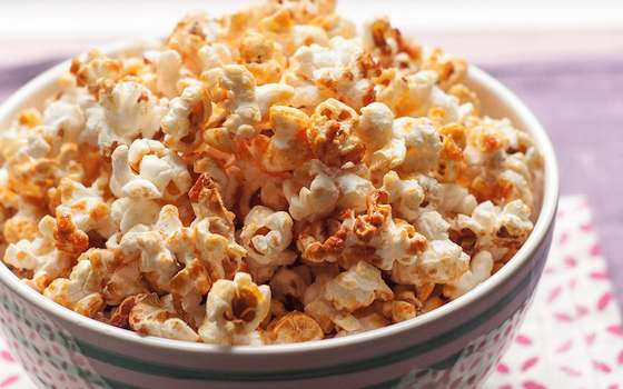 Caramelized Kettle Corn Popcorn Recipe