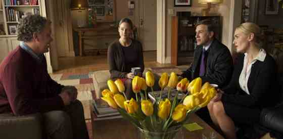Christoph Waltz and Kate Winsletin Carnage