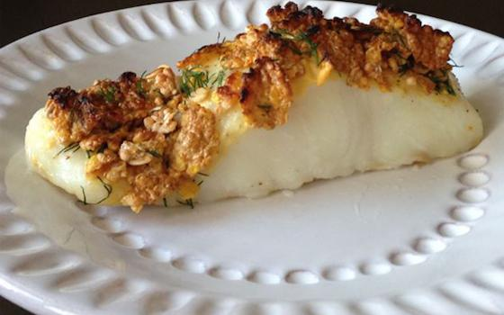Cereal-Crusted Halibut Recipe