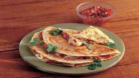 3-Cheese Quesadillas & Classic Guacamole